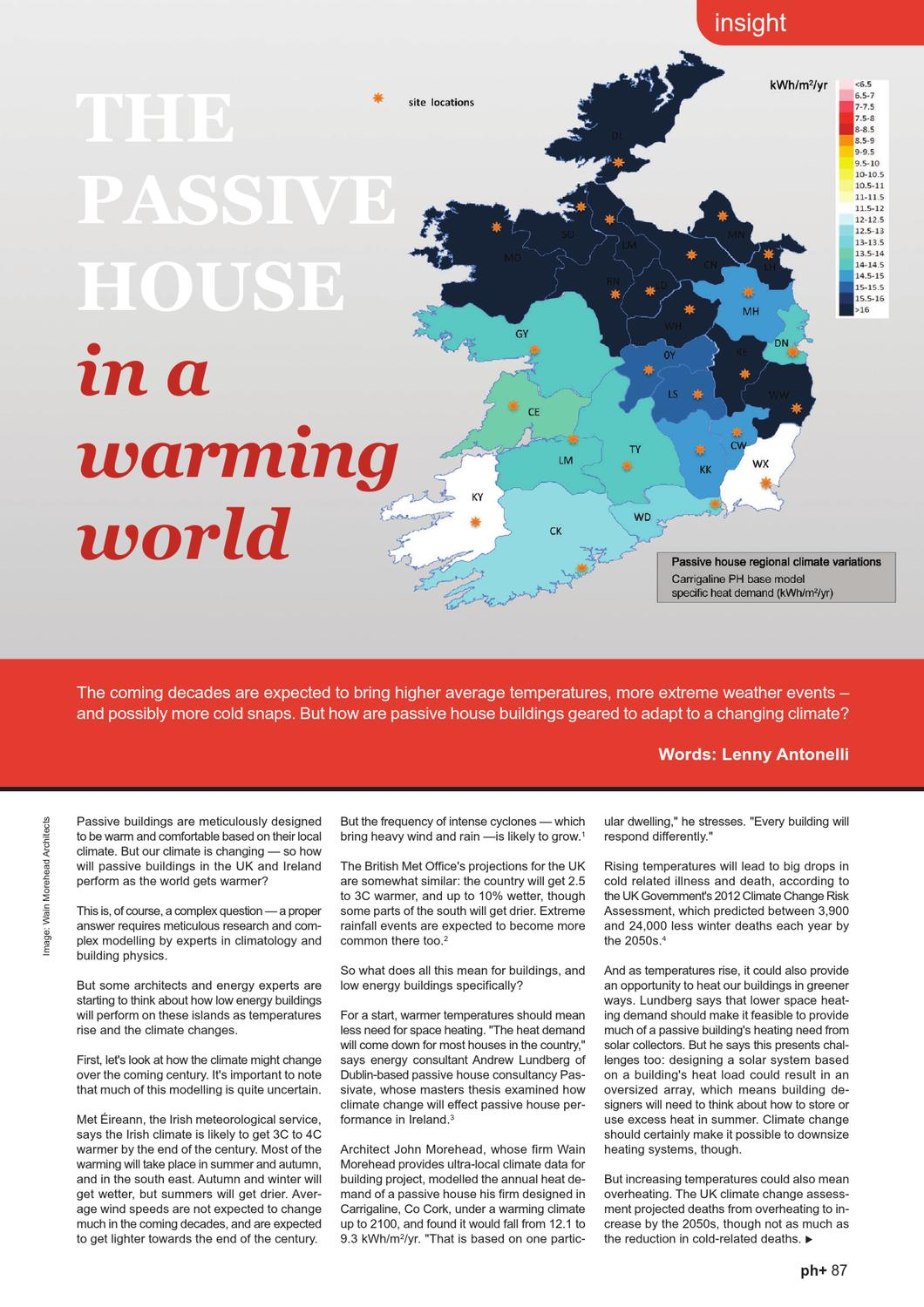 Map Of Ireland 2100.Passive House Plus Issue 2 Irish Edition By Passive House Plus