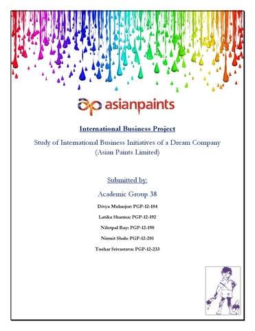 Asian paints international