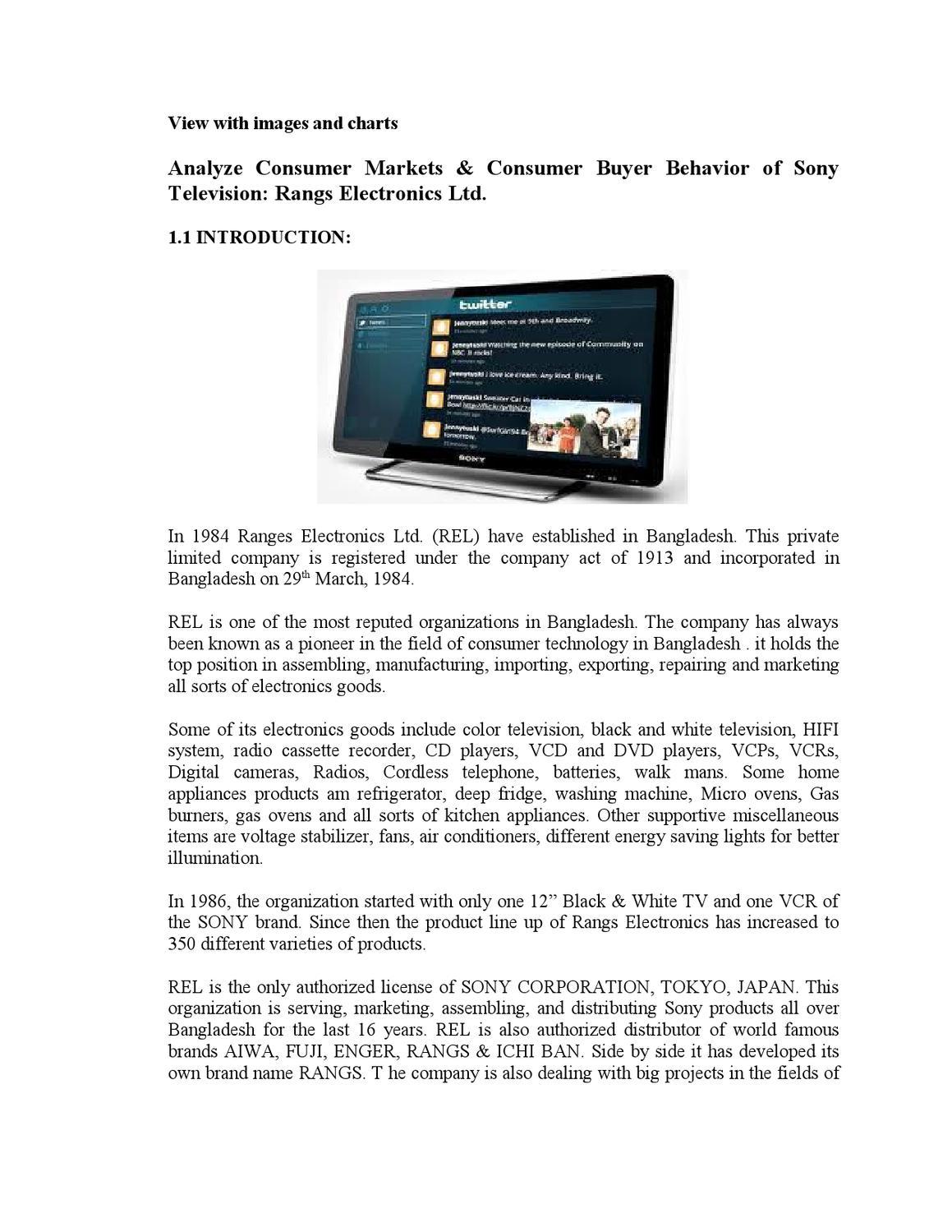 Uncategorized Sony Kitchen Appliances sony by regan ahmed issuu