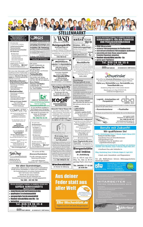 Harburg KW09-2013 by Elbe Wochenblatt Verlagsgesellschaft mbH & Co ...