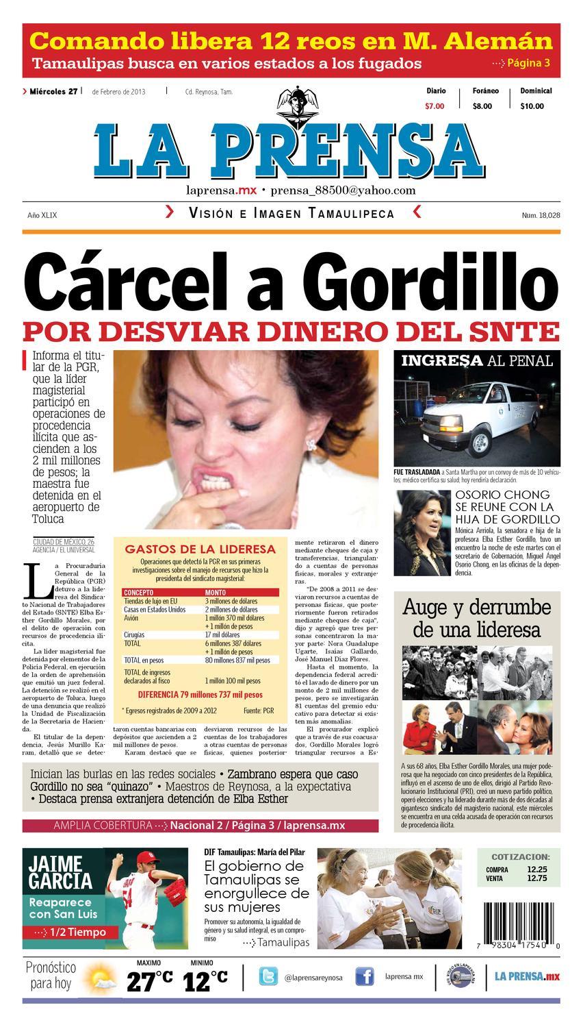b90150376 La Prensa by La Prensa de Reynosa - issuu