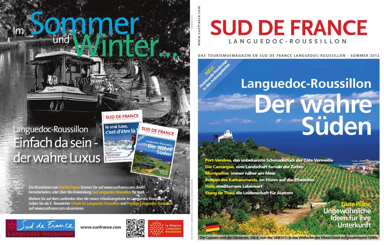 Sud de France Eté 2012 DE by Sud de France Développement - issuu