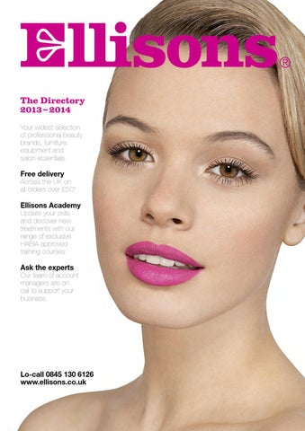 09d9d85dd28c9 The Directory 2013 – 2014 Your widest selection of professional beauty  brands, furniture, equipment and salon essentials Free delivery Across the  UK on all ...