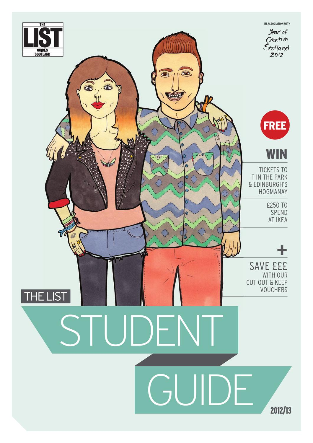 044f11441ef The List Student Guide 2012 by The List Ltd - issuu