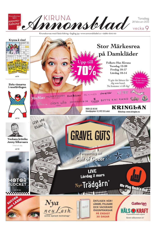 finest selection 2ff42 64584 Kiruna Annonsblad 2013 v.09 by Svenska Civildatalogerna AB - issuu