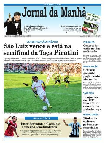 abb1890937f0d Jornal da Manhã 26.02.2013 by Classificados Jornal da Manhã - issuu