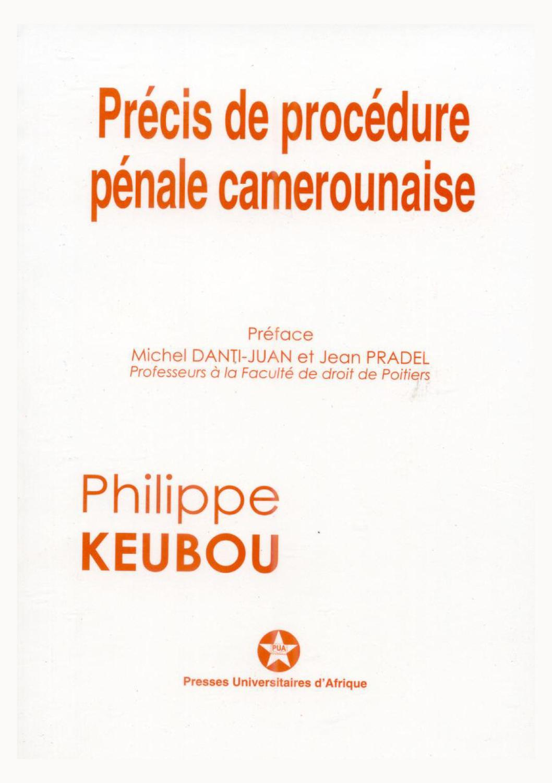 Extrait pr cis de proc dure p nale camerounaise by presses universitaires d 39 afrique issuu - Article 673 code civil ...