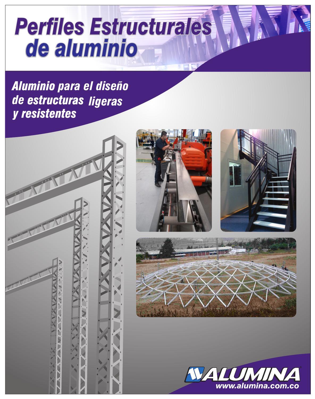 Cat logo de perfiles estructurales by jeffrey jimenez issuu for Perfiles de aluminio catalogo