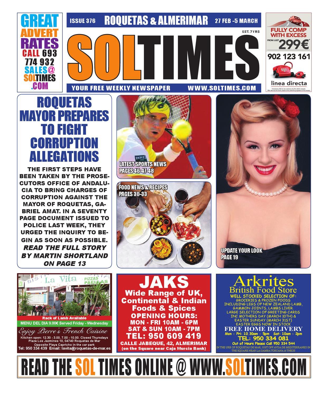 a754fd391c035 Roquetas R376 by Sol Times - issuu