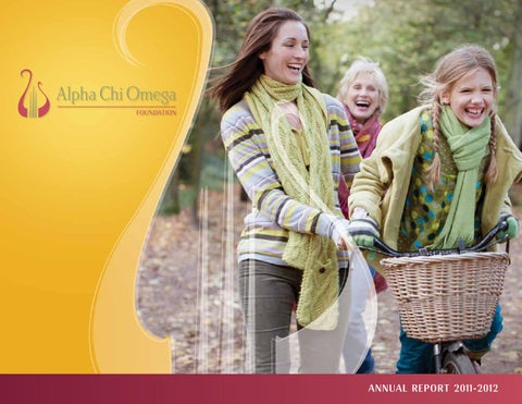 2012 Annual Report by Alpha Chi Omega Fraternity, Inc  - issuu