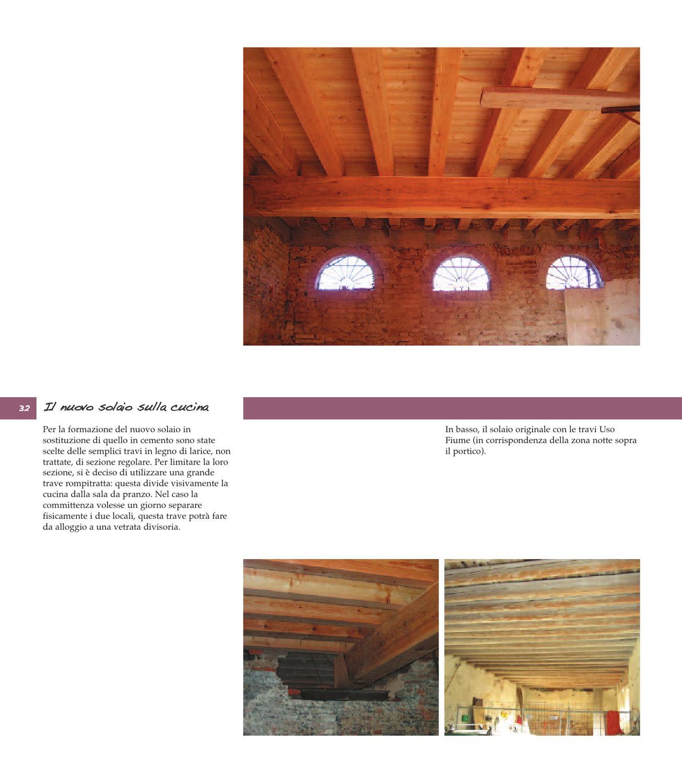 Sostituzione Travi In Legno Solai casaclima r. edifici storici ad alta efficienza energetica