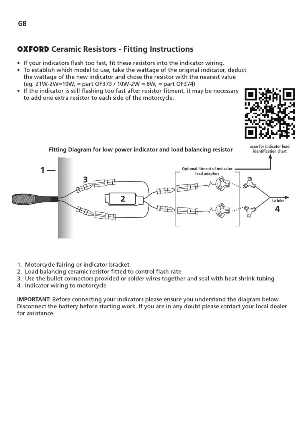 Ceramic Resistor Instructions By Oxford Products Issuu