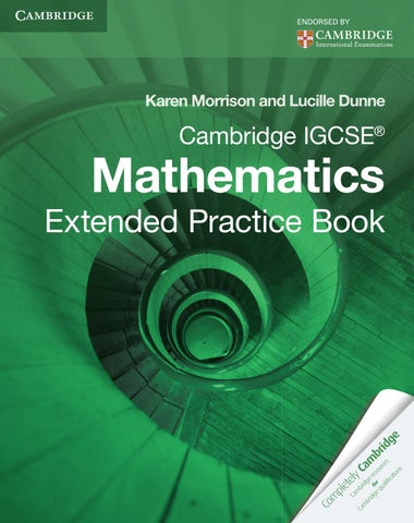 cambridge igcse mathematics core and extended third edition answers pdf