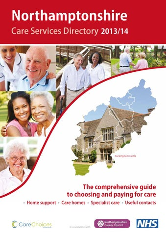 Northamptonshire Care Services Directory 2013 14