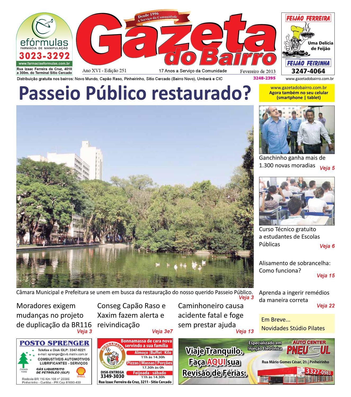 42ce5b475cb Gazeta do Bairro Fev 2013 by Gazeta do Bairro - issuu