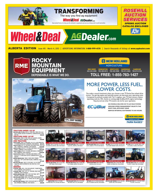 Wheel & Deal Alberta, March 4, 2013 by Farm Business Communications -  issuu