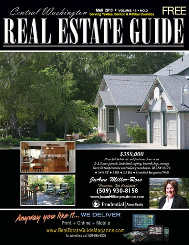 Central Washington Real Estate Guide Mar 2013 By Sarah