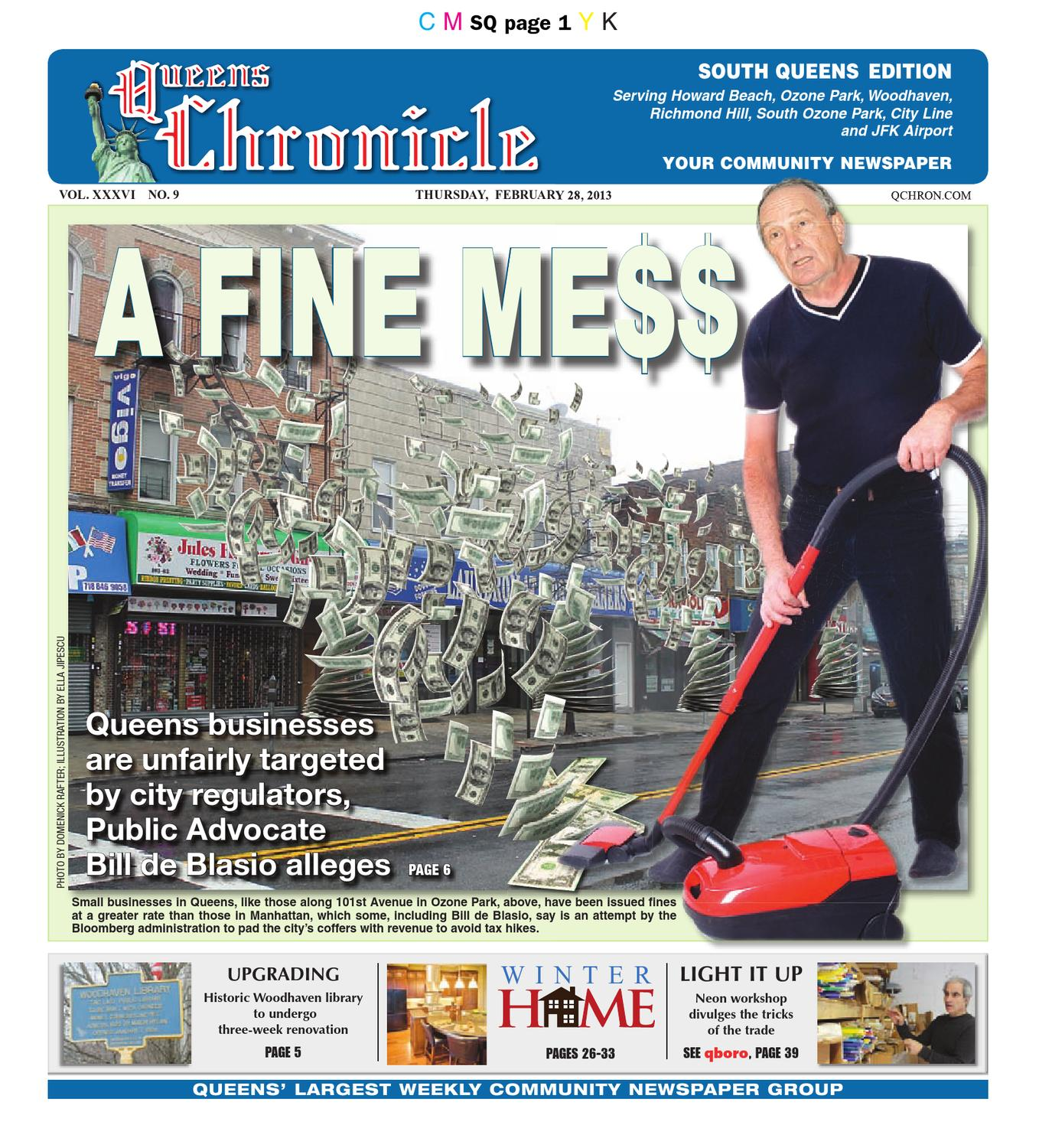 Queens Chronicle South Edition By Queens Chronicle Issuu - What is a deposit invoice rocco's online store