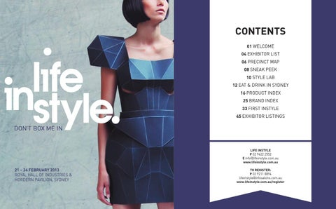 e125ff8e31518 Life Instyle Sydney Handbook 2013 by Life Instyle - issuu