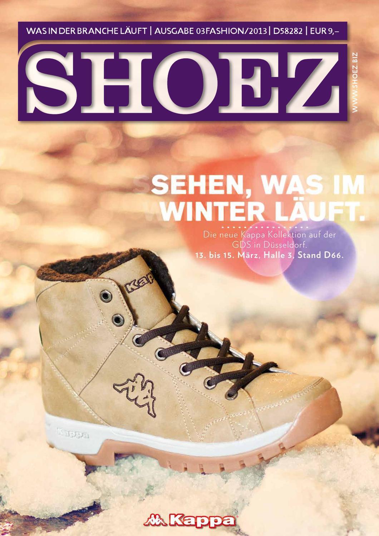 Shoez Ausgabe Maerz 2013 by SHOEZ – Das Fachmagazin für die