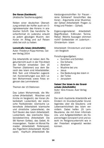muk 45 Infokoffer Islam by Matthias Woerther - issuu