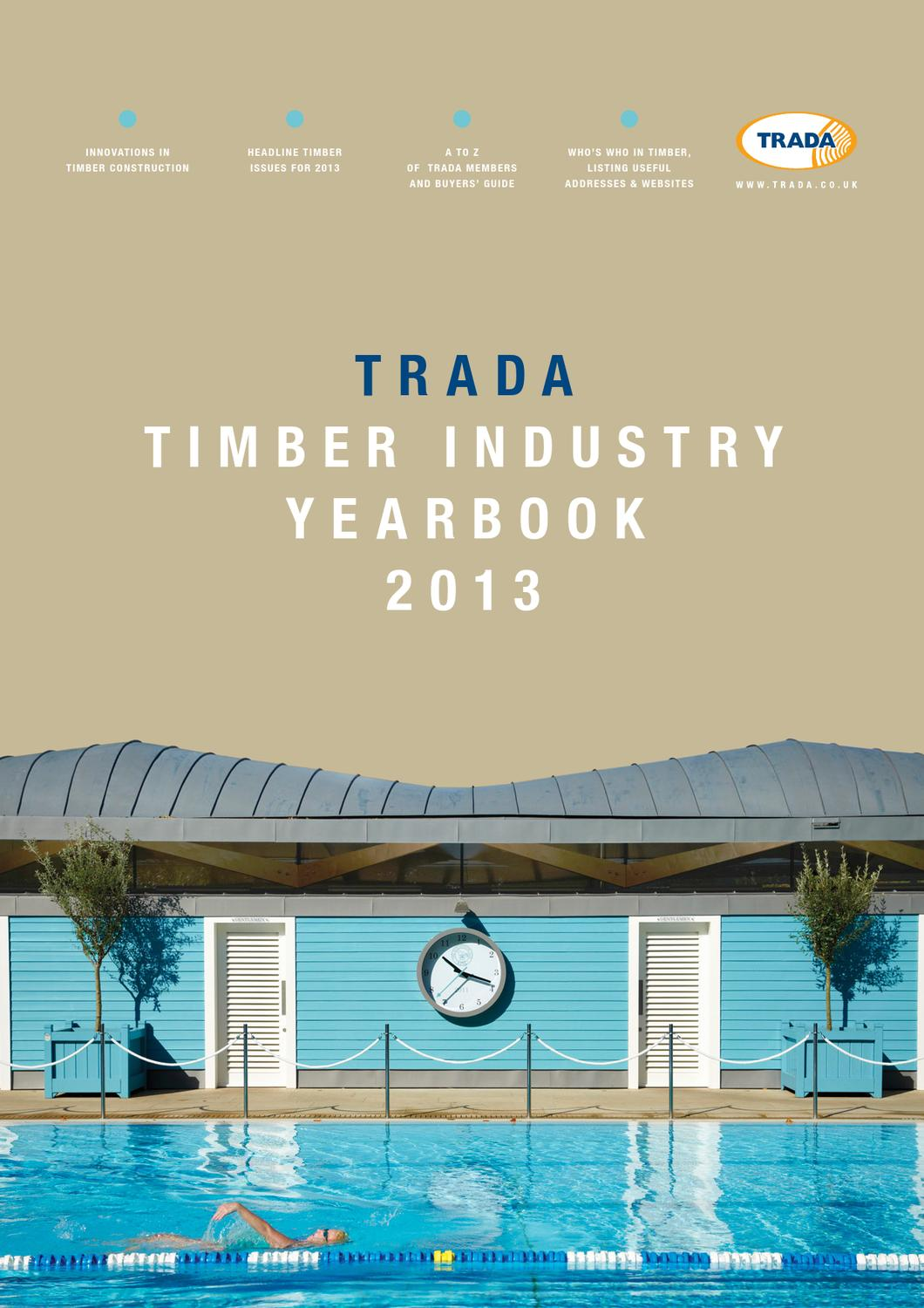 TRADA Timber Industry Yearbook 2013 by Open Box Media