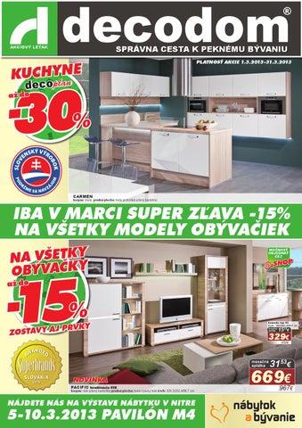 8b30841b804f akcia marec 2013 by Decodom - Slovenský výrobca nábytku - issuu