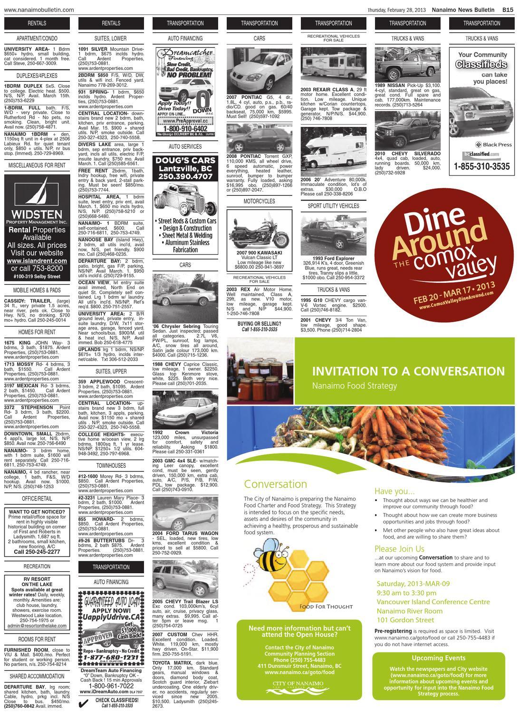 Nanaimo News Bulletin, February 28, 2013 by Black Press