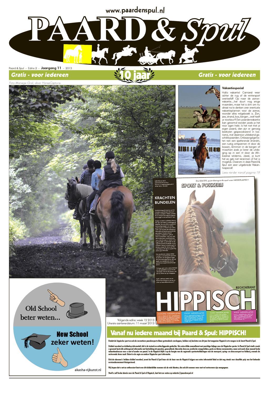 Paard & Spul februari 2013 by WildHorseMedia - issuu