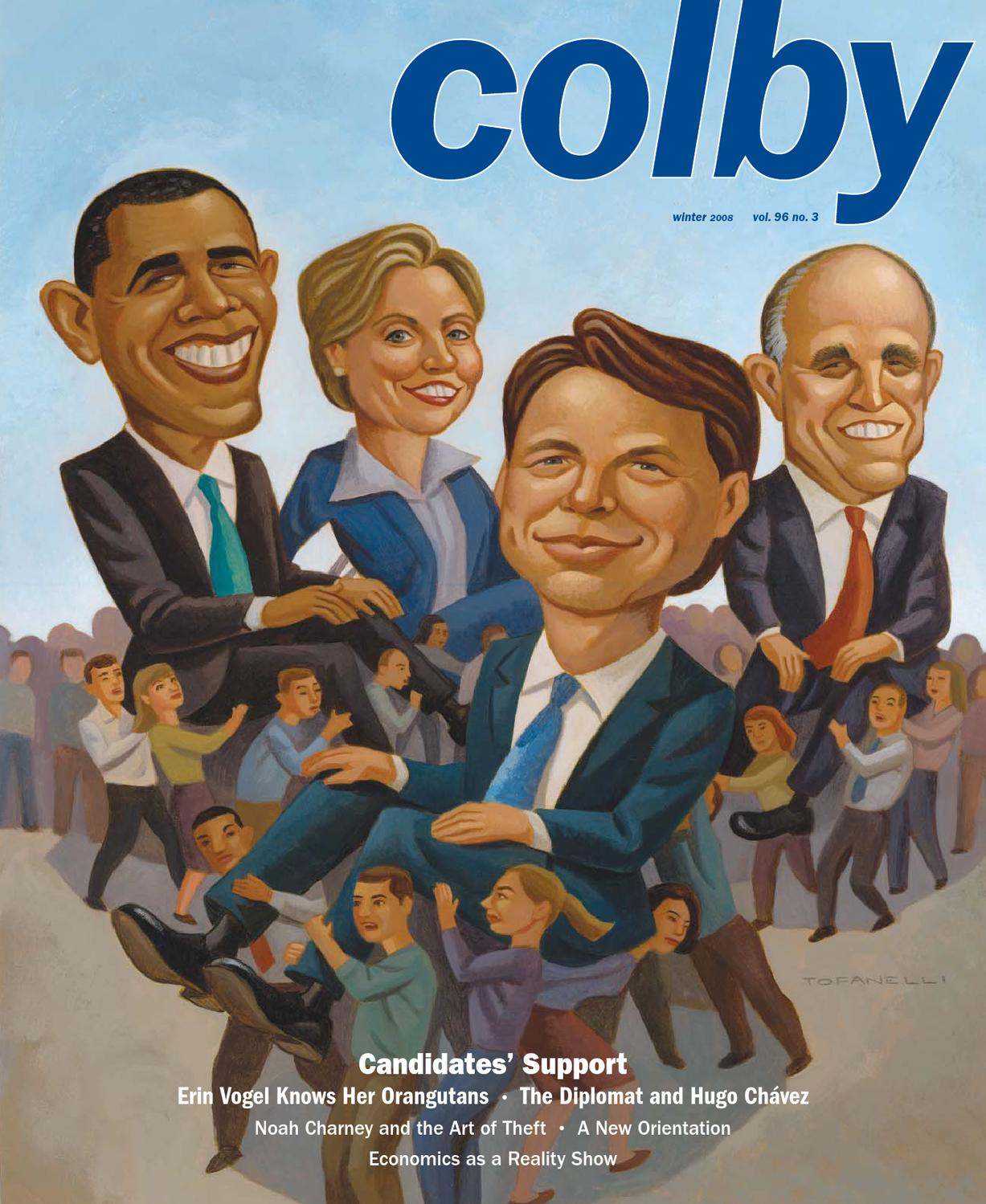 Colby Magazine vol  96, no  3 by Colby College Libraries - issuu
