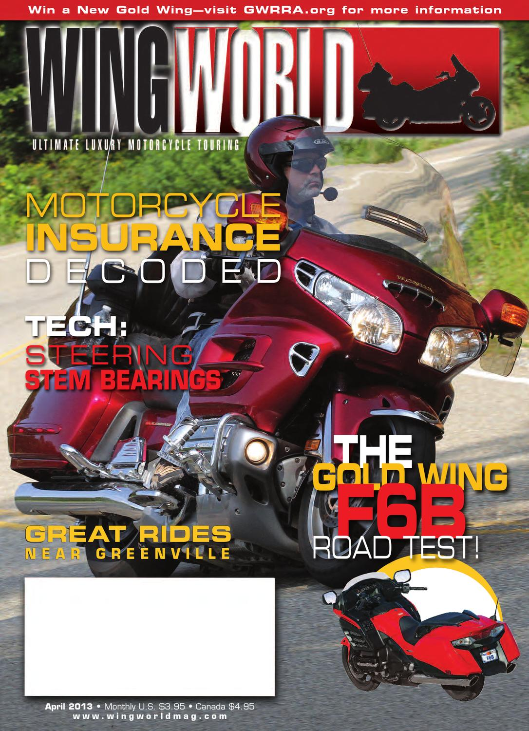 April2013 By Gold Wing Road Riders Association Issuu Gl1800 Gps Wiring Diagram