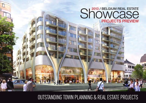 Belgium real estate showcase 2013 full edition by business