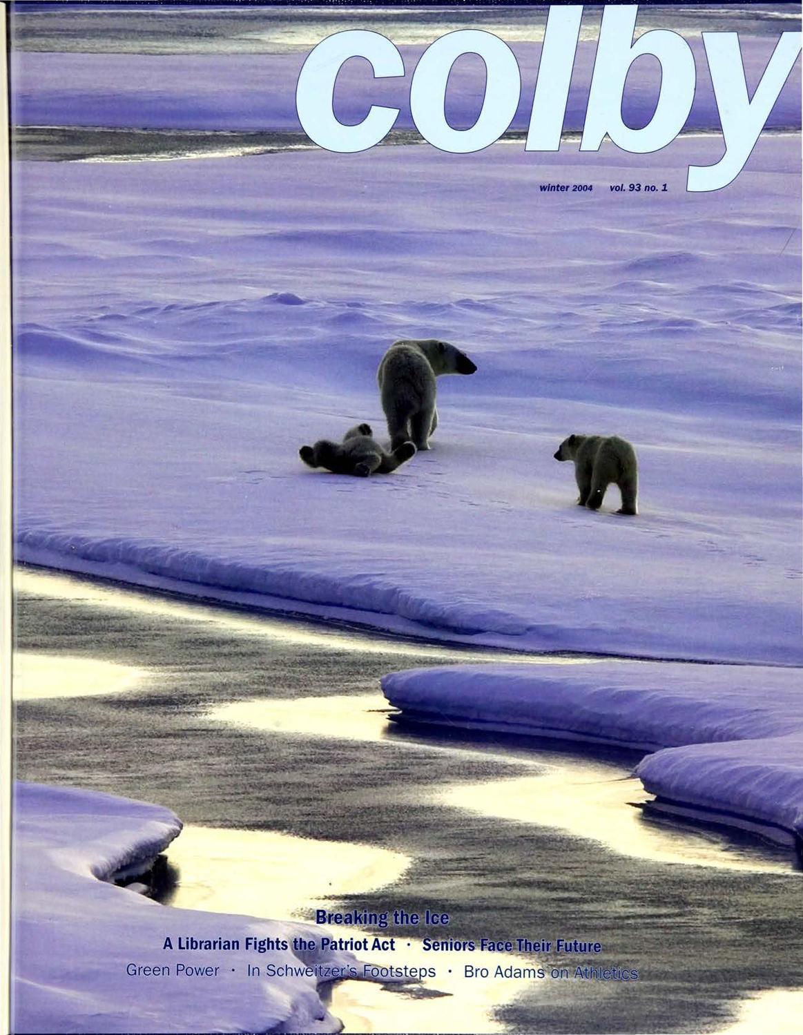 29620b52a15 Colby Magazine vol. 93