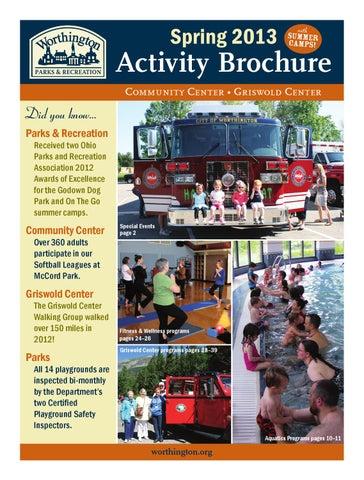 WPRD 2013 Spring Activity Brochure by Worthington Parks