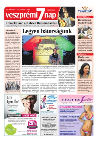70097478e8 Veszprémi 7 Nap by Maraton Lapcsoport Kft. - issuu