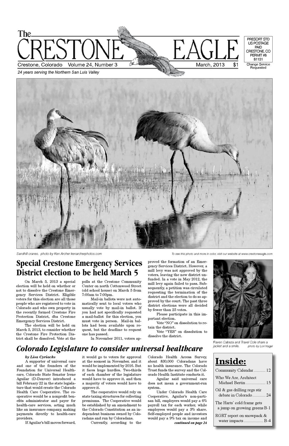 March 2013 The Crestone Eagle By The Crestone Eagle Issuu