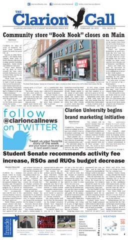 The clarion call 02282013 by the clarion call issuu page 1 fandeluxe Images