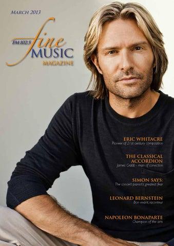 Fine Music Magazine March 2013 by Editor - issuu b931a88b6