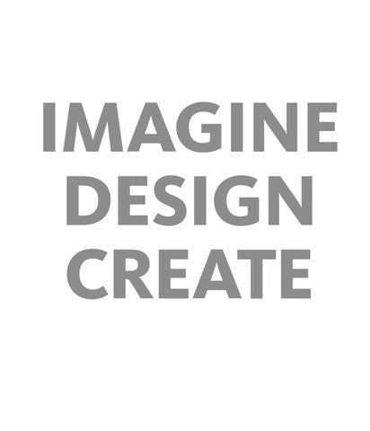 Page 1. Imagine Design Create