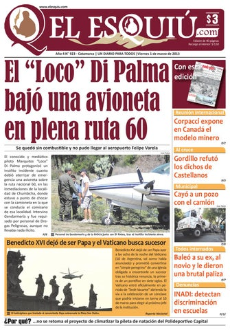 El Esquiu.com viernes 1 de marzo de 2013 by Editorial El Esquiú - issuu 156d436f2a5