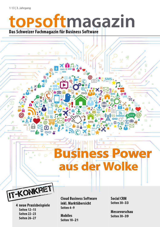 topsoft Magazin 1-13: Business Power aus der Wolke by topsoft - issuu