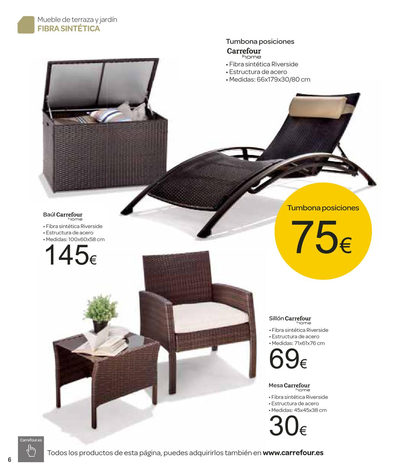 catalogo de muebles de jardin carrefour by milyuncatalogos