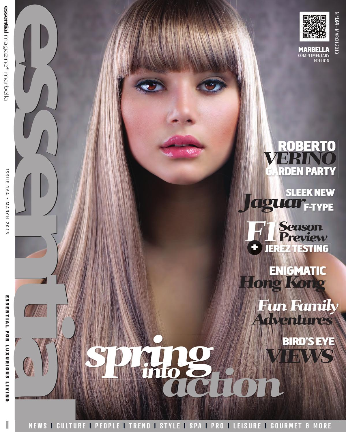 Essential Marbella Magazine March 2013 By Publicaciones  # Muebles Simon Marbella