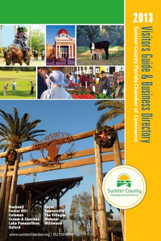 Sumter County 2013 Visitors Guide Business Directory By Andrew