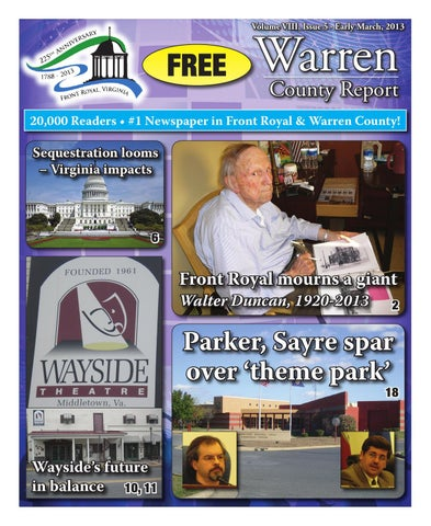 c700ce01b9c Warren County Report 2/28/2013 by Warren/Frederick County Report ...