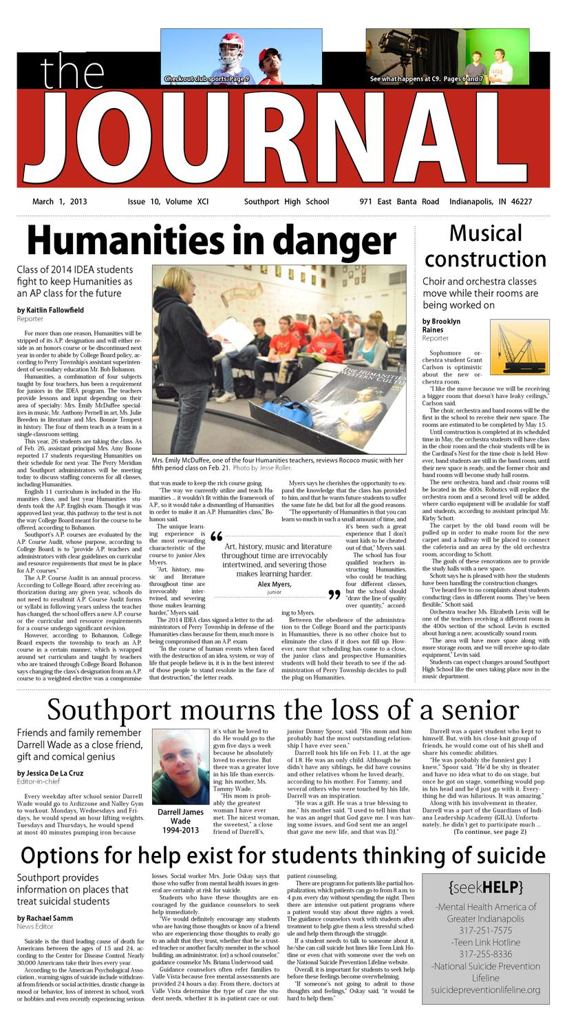 Southport Journal by Lucas Sweitzer - issuu
