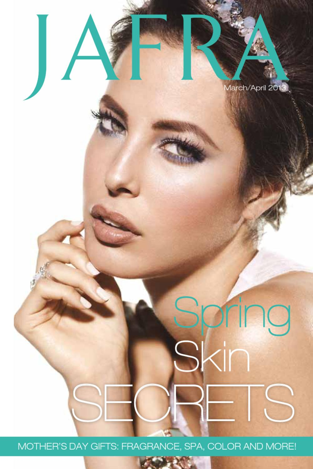 Jafra March April Spring Brochure By Susan Hall Issuu Spa Set
