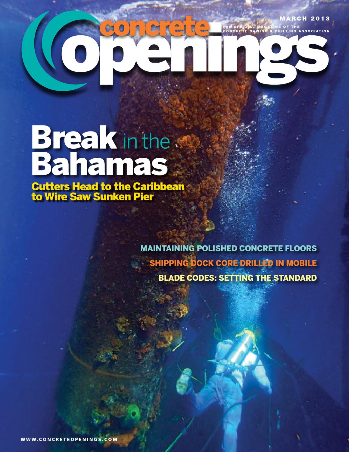 March 2013 Concrete Openings By Archive Issuu Dummies Guide To Building A Vortex Electrical Wiring Harness