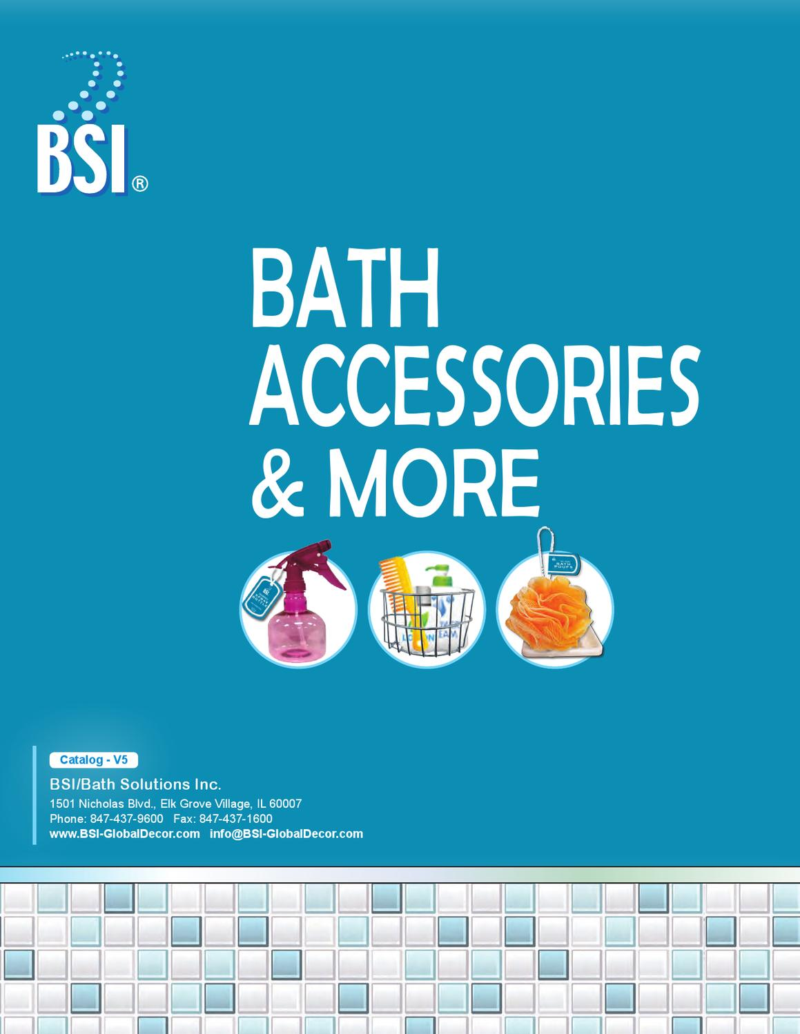 Direct Import Home Decor Bath Accessories By Bsi Global Decor Issuu