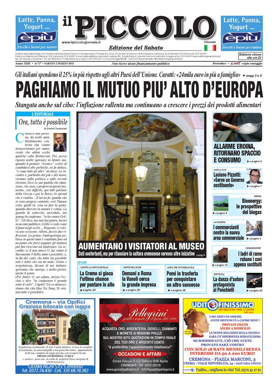 64b07034a9 Il Piccolo 2 marzo 2013 by Daniele Tamburini - issuu
